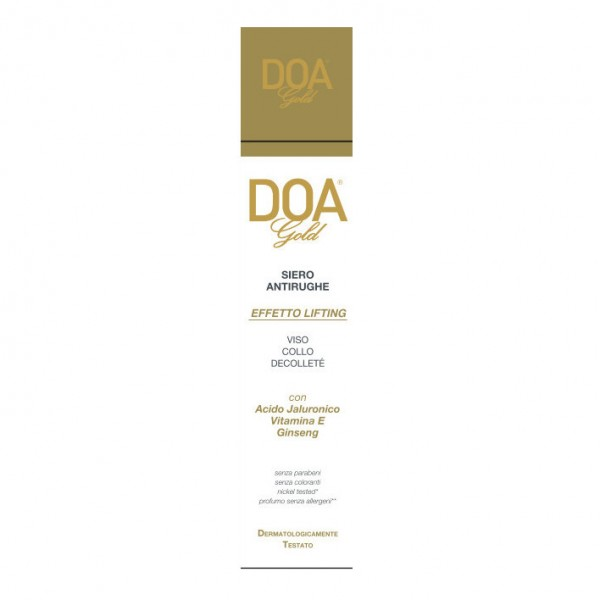 DOA GOLD Siero A-Rughe 30ml