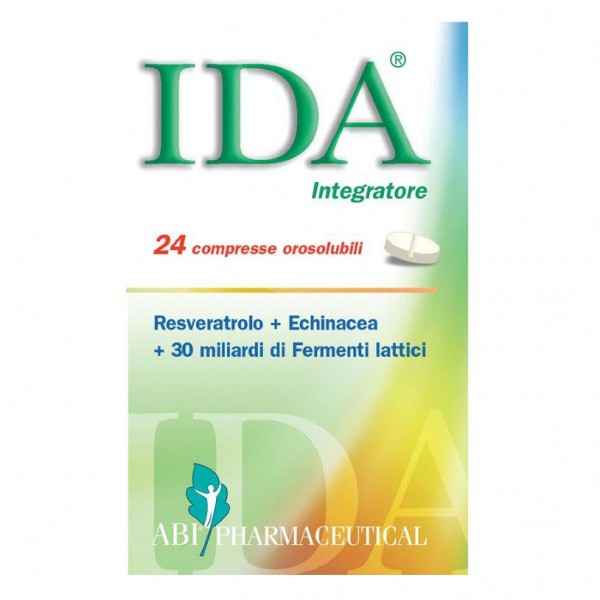 IDA 24 Compresse Orosolubili