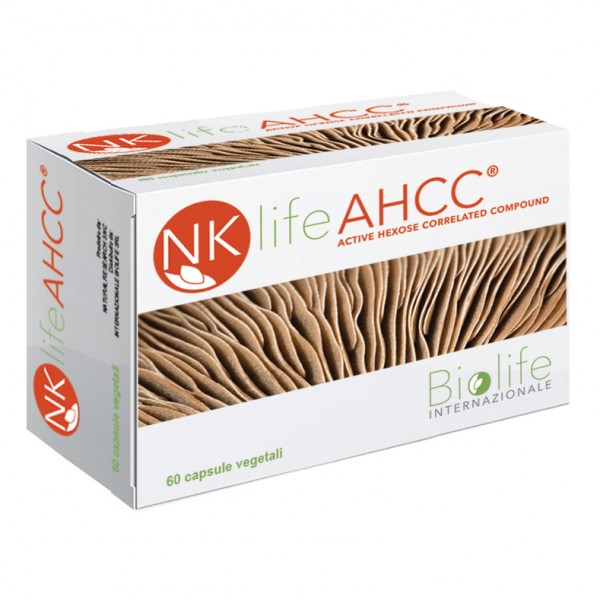 NKLIFE AHCC 60 Cps