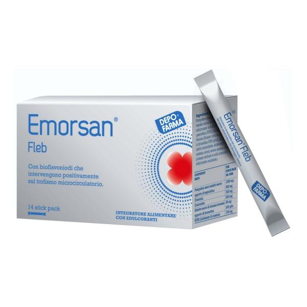 EMORSAN FLEB 14 Stk 15ml