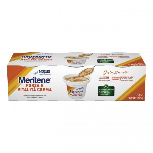 MERITENE Creme Nocc.3x125g