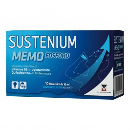 Sustenium Memo Fosforo - Integratore per la memoria e la concentrazione - 10 flaconcini