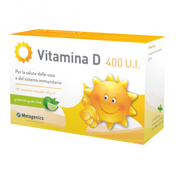 VITAMINA D 400UI  84 Cpr