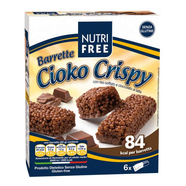 NUTRIFREE Barr.CiokoCrispy120g