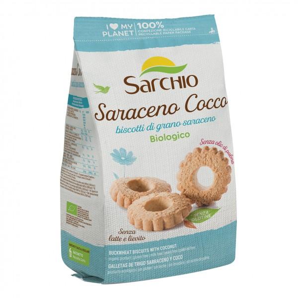 SARCHIO Bisc.Sarac.Cocco 200g