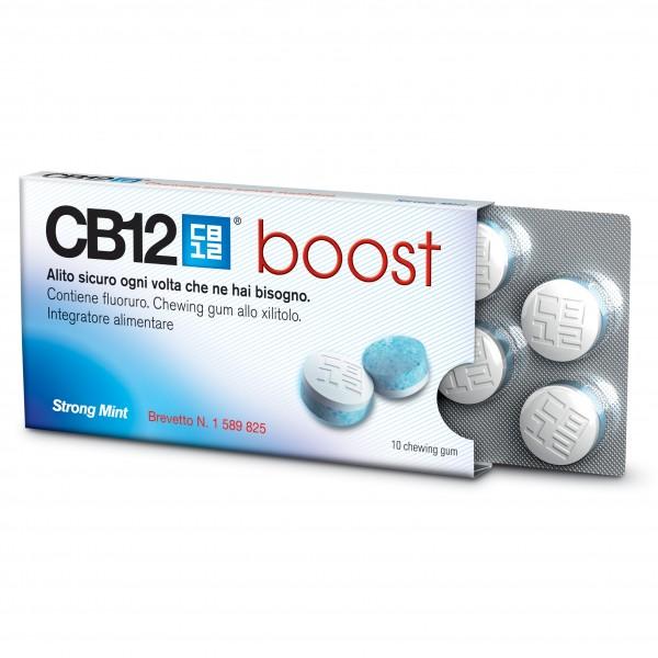 CB12 Boost 10 chewing-gum