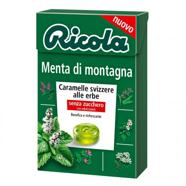 RICOLA Menta Montagna S/Z 50g