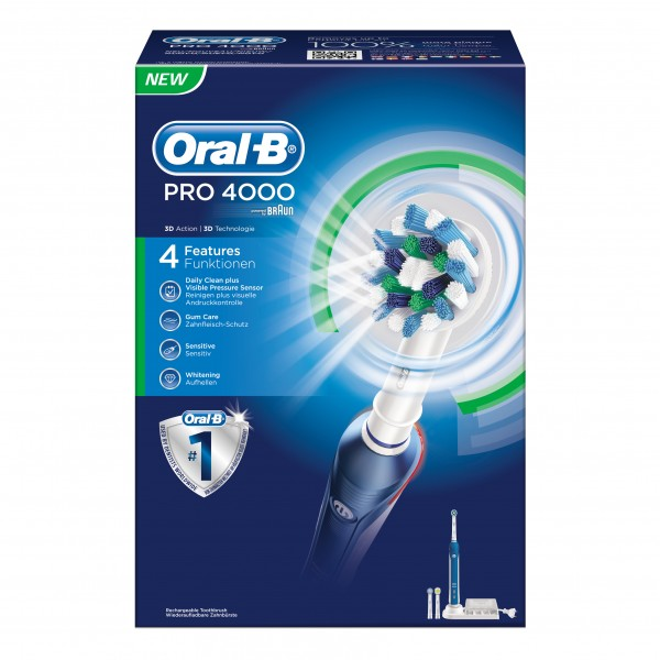 ORAL-B Pro4000 Cr-Action