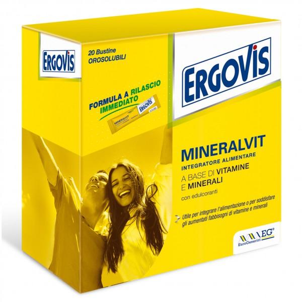 ERGOVIS MINERALVIT 20 Bust.