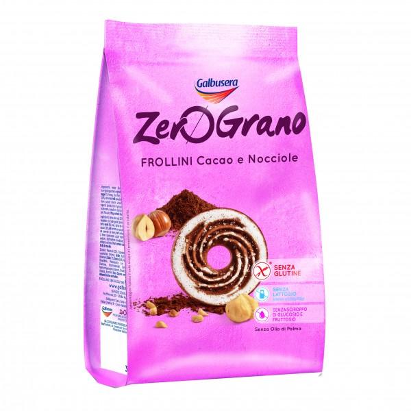 ZEROGRANO Frollini Cacao/Nocc.