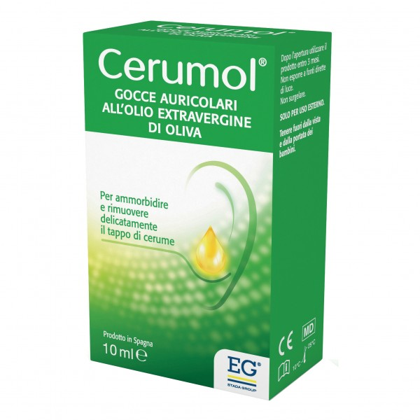 CERUMOL Gtt Auricolari 10ml