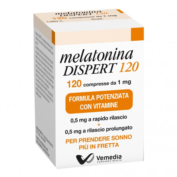 Melatonina Dispert 120 Compresse 1 mg