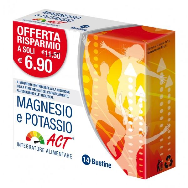 MAGNESIO Potassio ACT 14 Bust.
