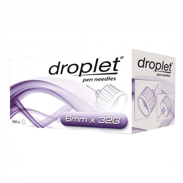 DROPLET Ago Penna 32g 6mm100pz