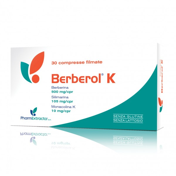 BERBEROL K 30 Compresse