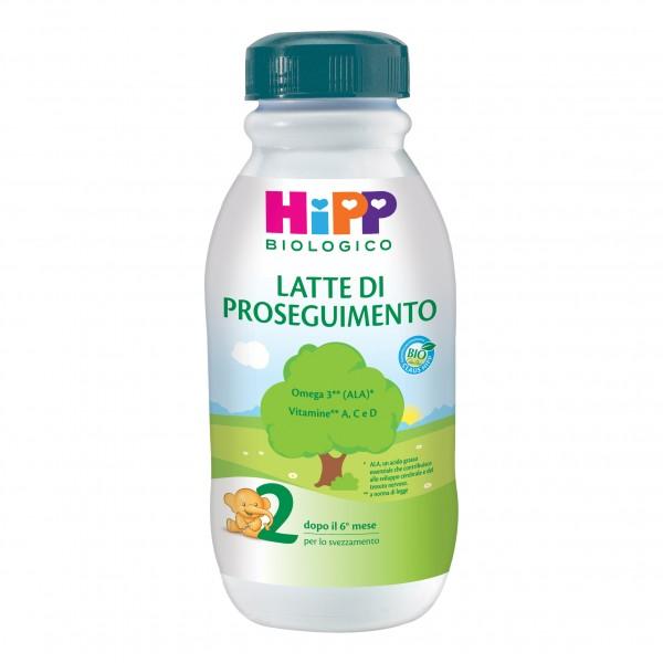 HIPP 2 Bio Latte Proseg.500ml