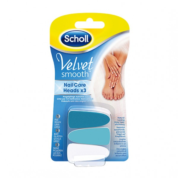Scholl Velvet Smooth Nail Care Ricarica ...