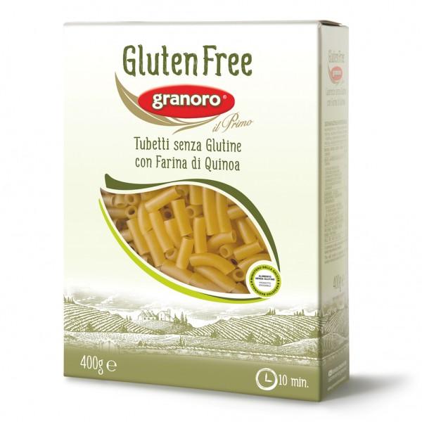 GRANORO Pasta S/G Tubetti 400g