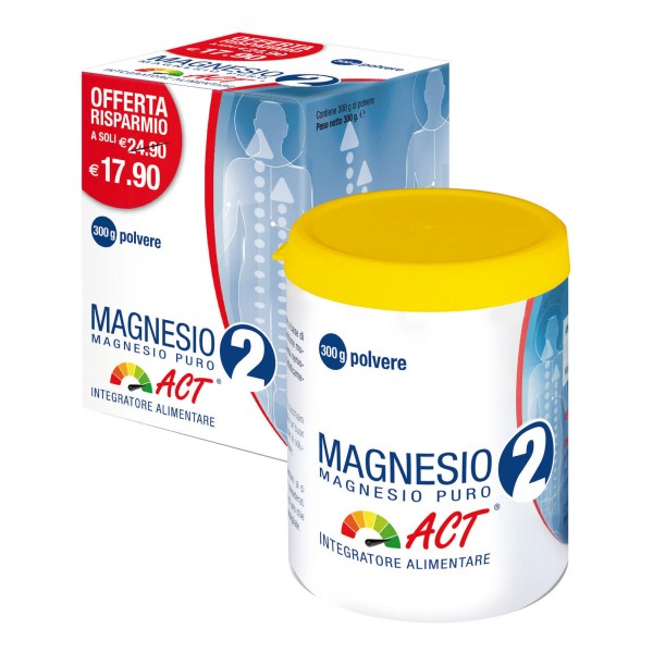 MAGNESIO 2 ACT MG Puro 300g