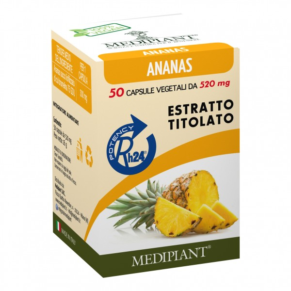 MEDIPLANT Ananas 50 Cps