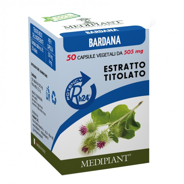 MEDIPLANT Bardana 50 Cps
