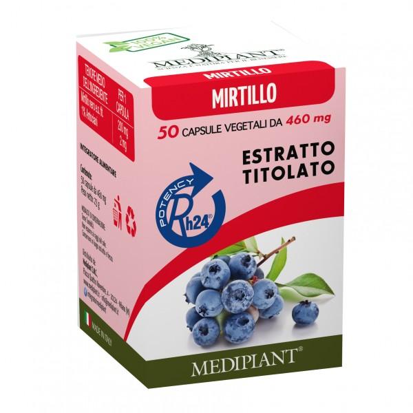 MEDIPLANT Mirtillo 50 Cps