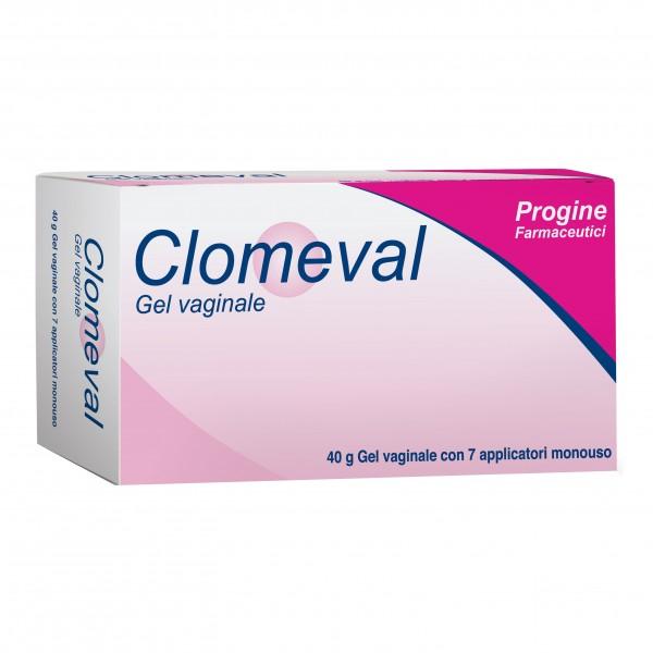 CLOMEVAL Gel Vaginale 40g