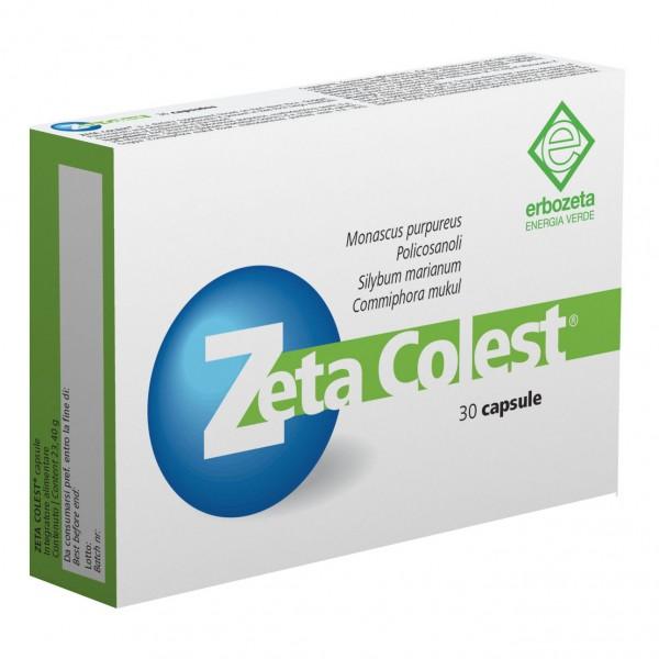 Zeta Colest - Integratore per il controllo del colesterolo - 30 capsule