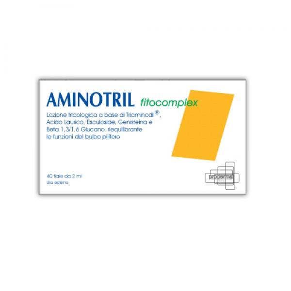 Aminotril Fitocomplex - Lozione anticaduta capelli per uomo e donna - 40 fiale