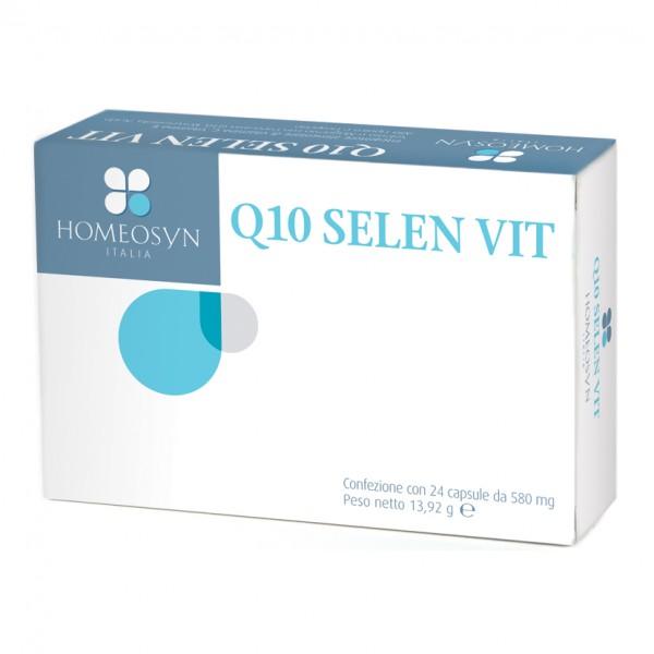 Q10 Selen Vit 24 Cps  HOMEOSYN