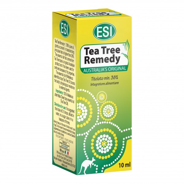 TEA TREE Oil 100% Remedy10mlES