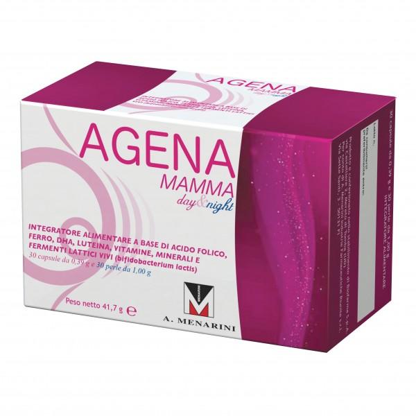 AGENA MAMMA Day&Night 30 Compresse +...