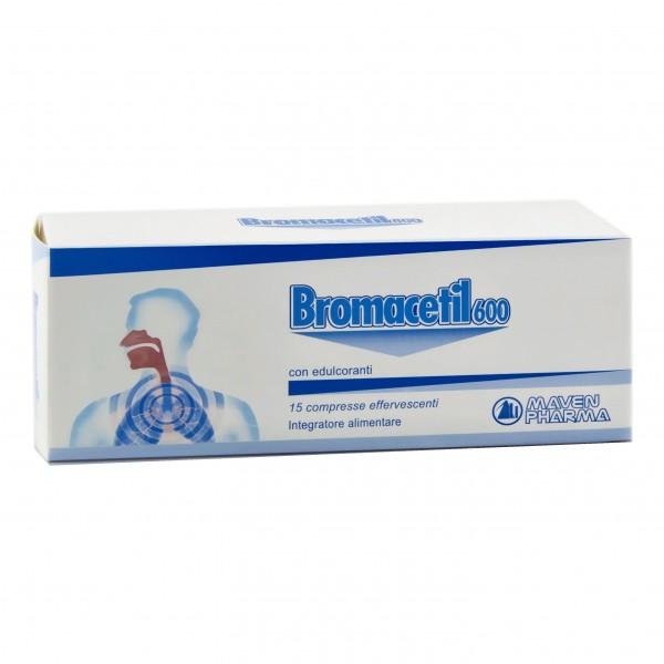 BROMACETIL 15 Cpr Eff.600mg