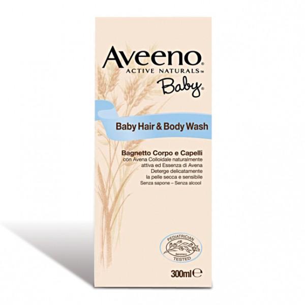 Aveeno Baby Bagnetto Corpo Capelli 300 ml