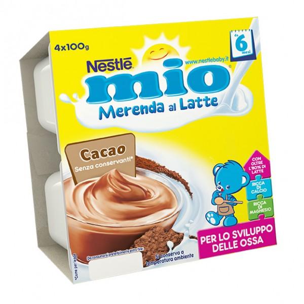 MIO Mer.Latte Cacao 4x100g
