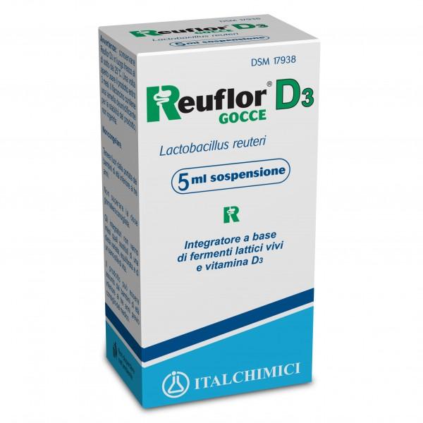 Reuflor D3 Gocce - Integratore per l'equ...