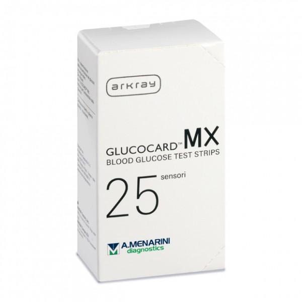 Glucocard Mx Blood Glucose 25 Strisce pe...