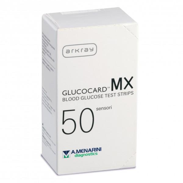 GLUCOCARD MX Blood Glucose 50 Strisce pe...