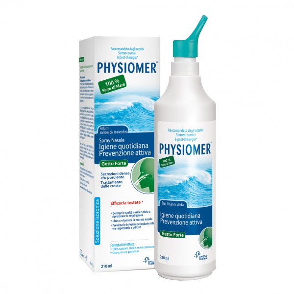 Physiomer Spray Nasale Getto Forte 210 m...