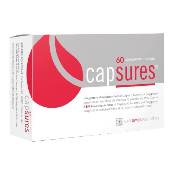 CAPSURES 60 Compresse rivestite