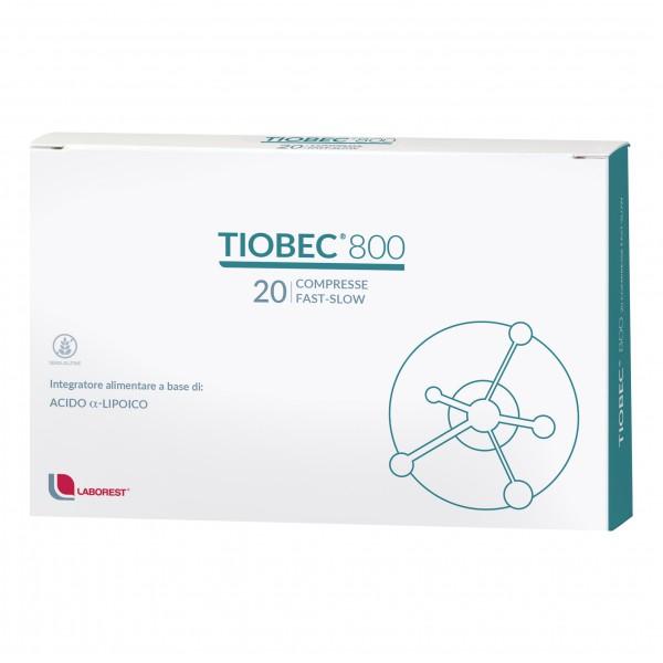 TIOBEC 800 20 Compresse