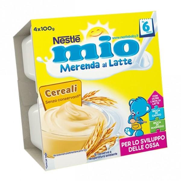 MIO Mer.Latte Cereali 4x100g