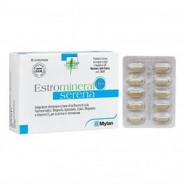 Estromineral Serena Plus - Integratore per donne in menopausa - 30 compresse