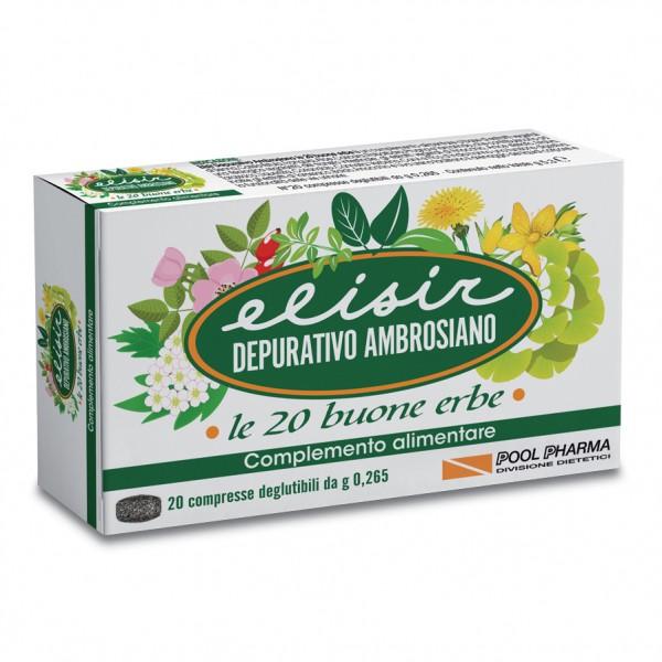 Elisir Depurativo Ambrosiano 20 compress...