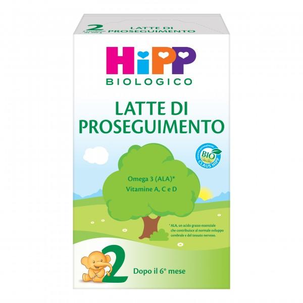 HIPP 2 Bio Latte Polv.600g