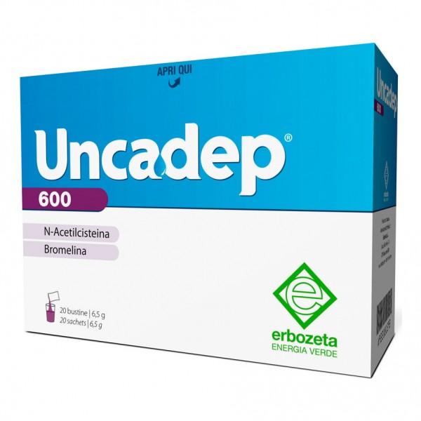 UNCADEP 600 20 Bustine 6,5g