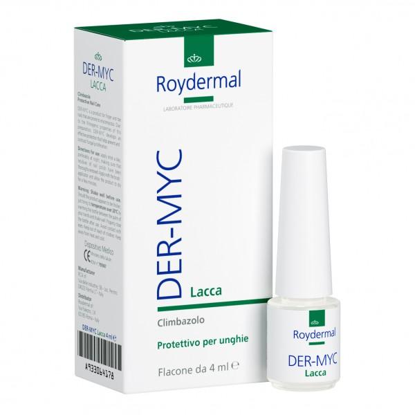DER-MYC Lacca Protettiva per Unghie 4 ml