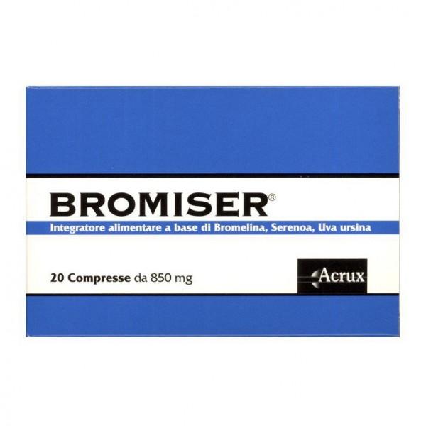 BROMISER 20 Compresse 850mg