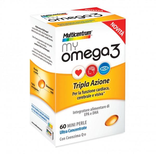 Multicentrum My Omega3 60 capsule
