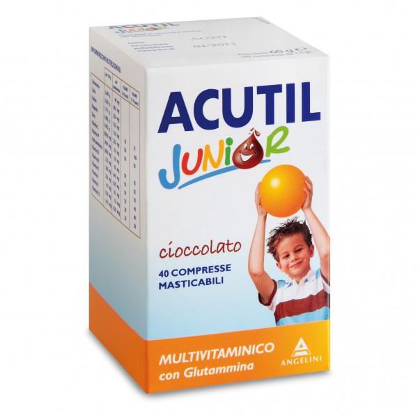 Acutil Multivit J Ciocc 40cpr